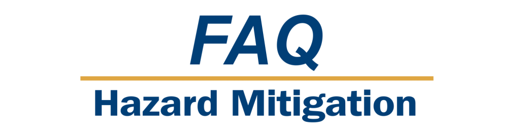 FAQ Hazard Mitigation